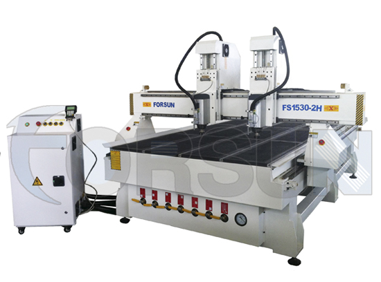 machine CNC Router multi tête