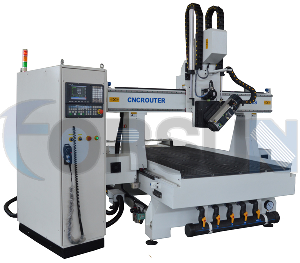 Line style ATC 4 Axis CNC Router FS1325D-4Axis