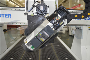 9.0KW HSD Spindle and Rotating Head