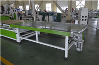 Conveyor off loading system