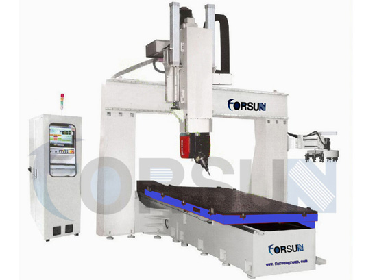FS1224-5 Axis Table Move CNC Router